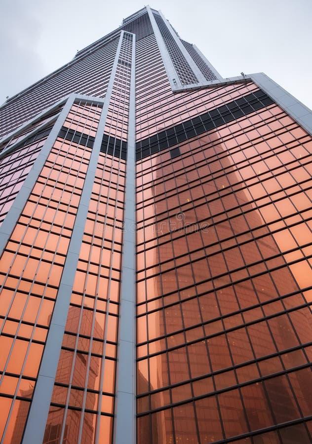 Sikt av den torn`-Mercury `en i Moskva royaltyfria foton
