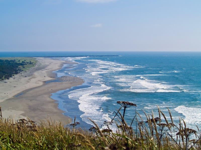 Sikt av den Washington kusten fotografering för bildbyråer