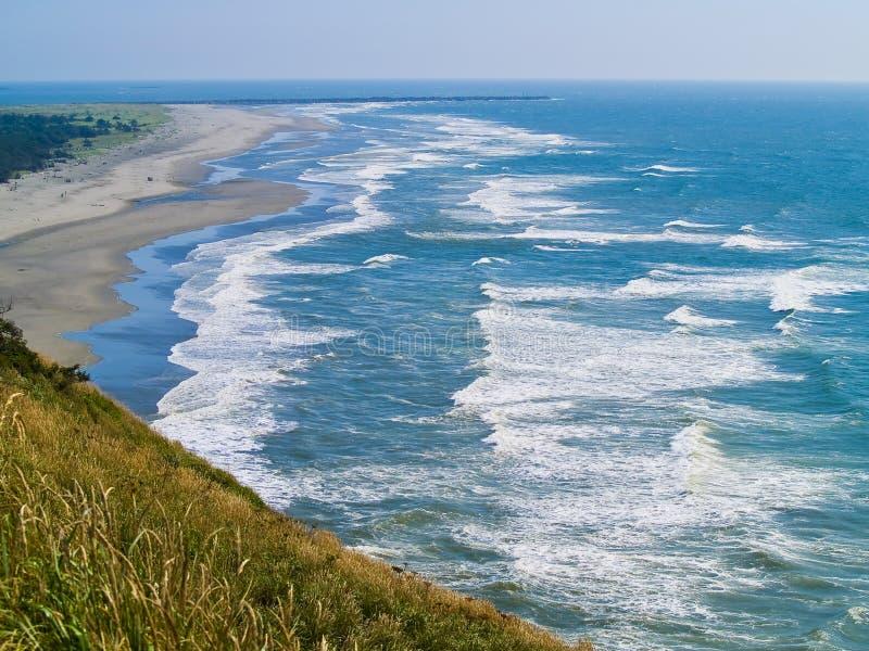 Sikt av den Washington kusten arkivbilder