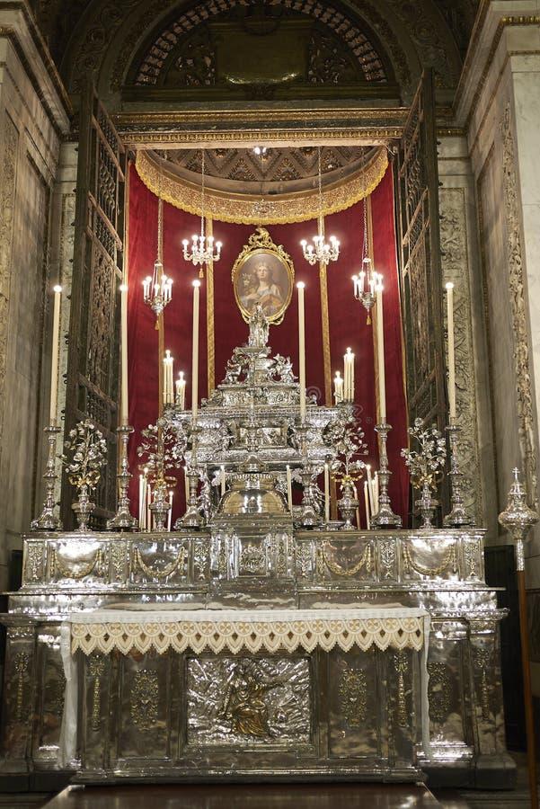 Sikt av det Santa Rosalia kapellet arkivfoton