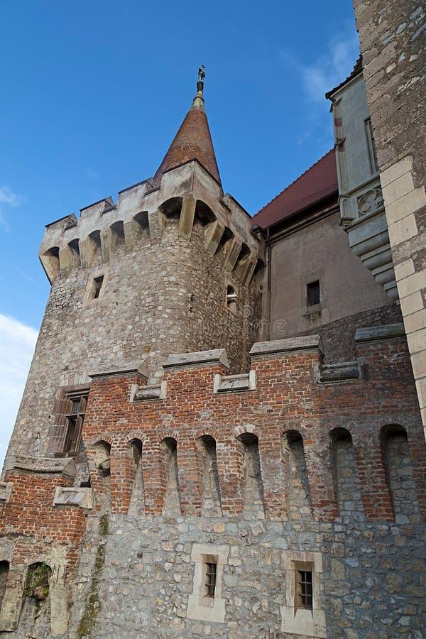 Download Sikt Av En Del Från Den Corvin Slotten Arkivfoto - Bild av europa, medeltida: 76701520