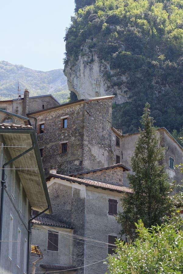 Sikt av equiterme i Italien royaltyfri bild