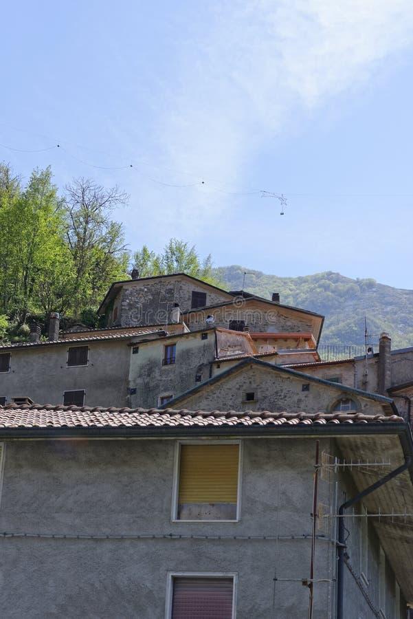 Sikt av equiterme i Italien royaltyfria bilder