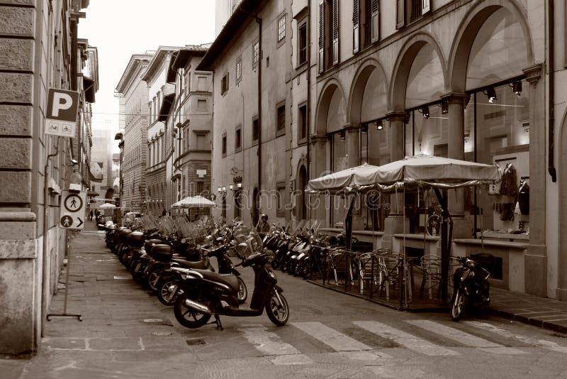 Sikt av Florance arkivbild