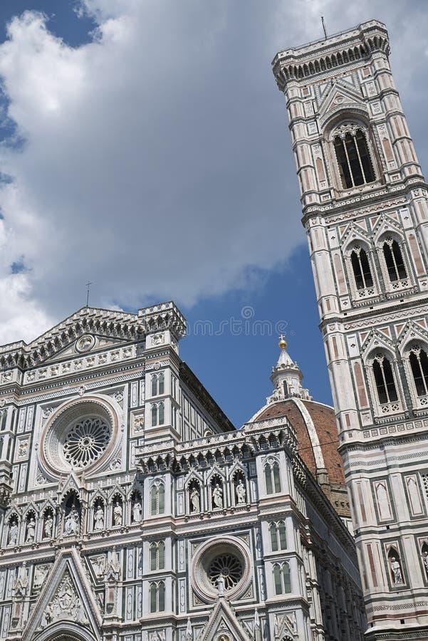 Sikt av Florence Cathedral arkivfoto