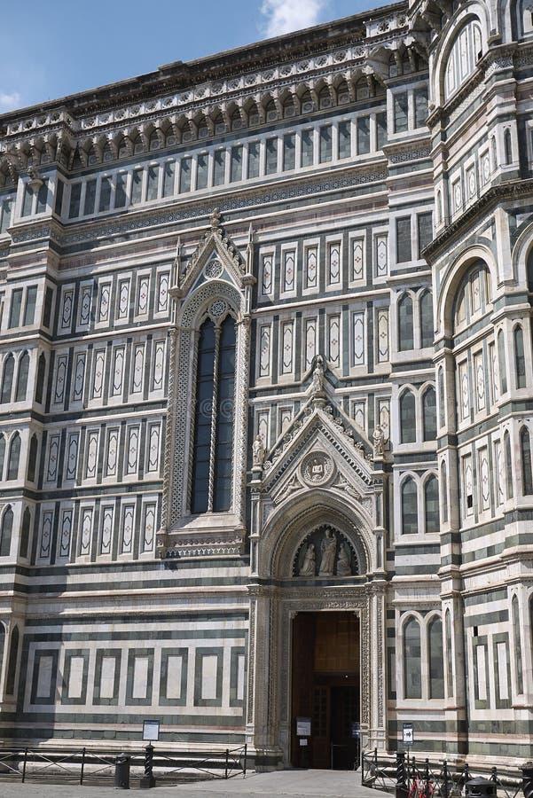 Sikt av Florence Cathedral arkivfoton