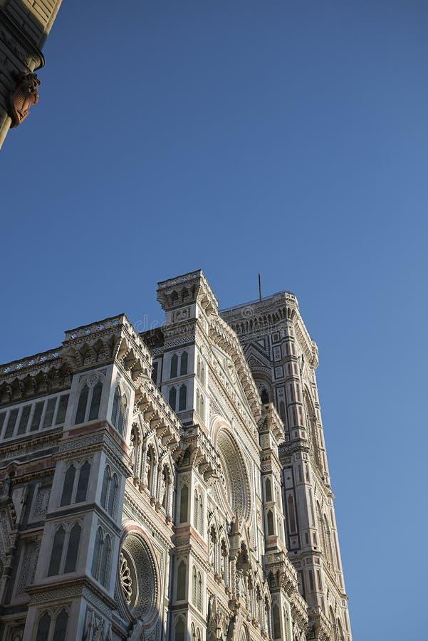 Sikt av Florence Cathedral fotografering för bildbyråer