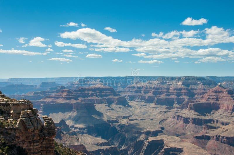 Sikt av Grand Canyon från moderpunkt, Arizona arkivfoton