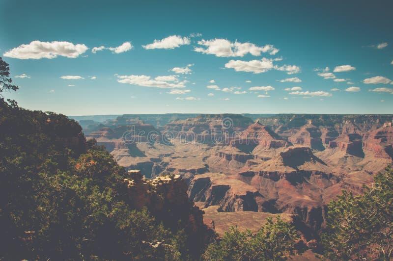Sikt av Grand Canyon från moderpunkt, Arizona fotografering för bildbyråer