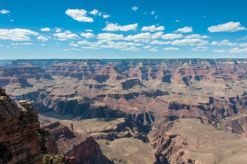 Sikt av Grand Canyon från moderpunkt, Arizona USA royaltyfria foton
