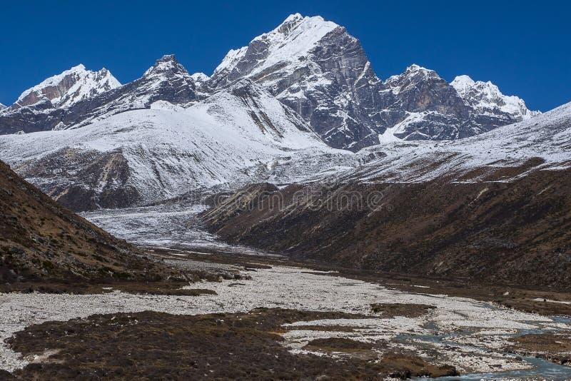 Download Sikt Av Himalayasna (det Awi Maximumet) Från Pheriche Arkivfoto - Bild av lhotse, park: 37344346
