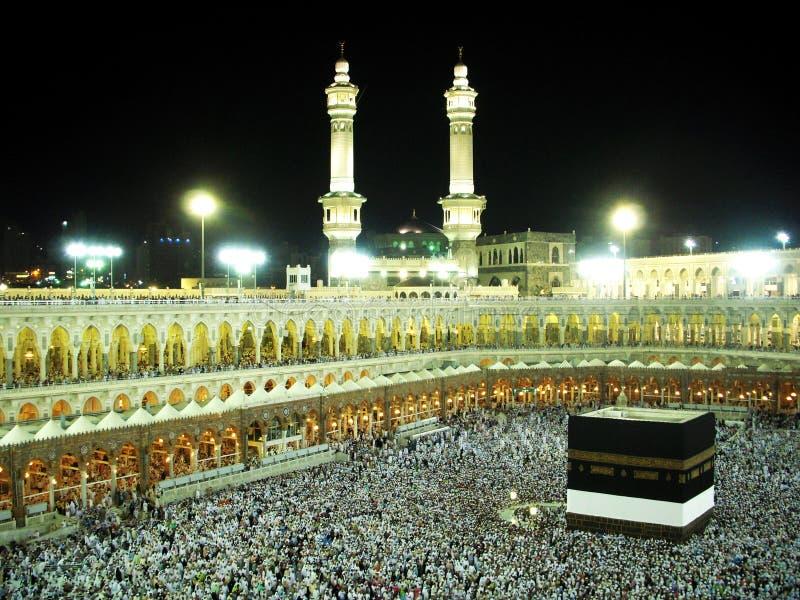 Sikt av Kaaba arkivbild