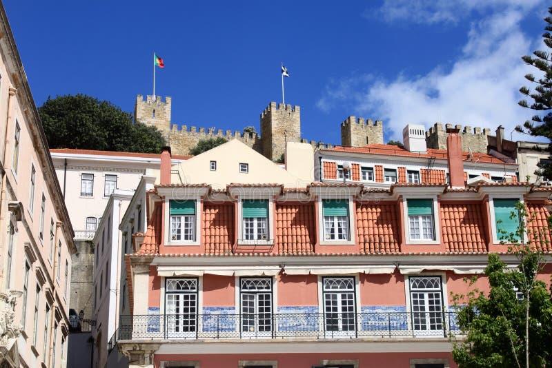 Sikt av Lisbon royaltyfria bilder