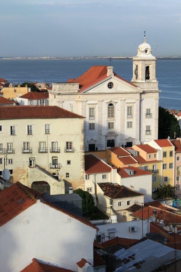 Sikt av Lisbon royaltyfria foton
