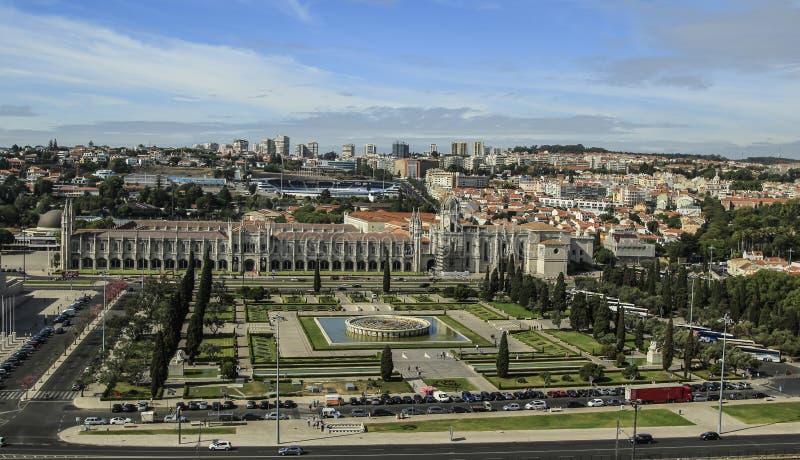 Sikt av Lissabon, huvudstaden av Portugal royaltyfria foton