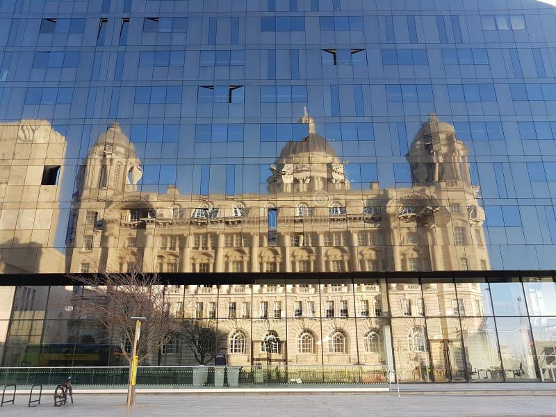 Sikt av Liverpool royaltyfri foto