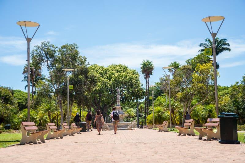 Sikt av Noumea, Nya Kaledonien royaltyfria foton