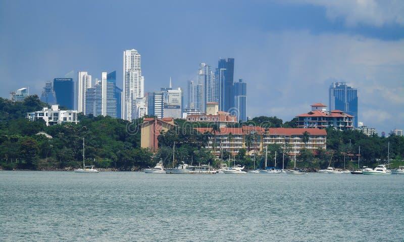 Sikt av Panama arkivfoto
