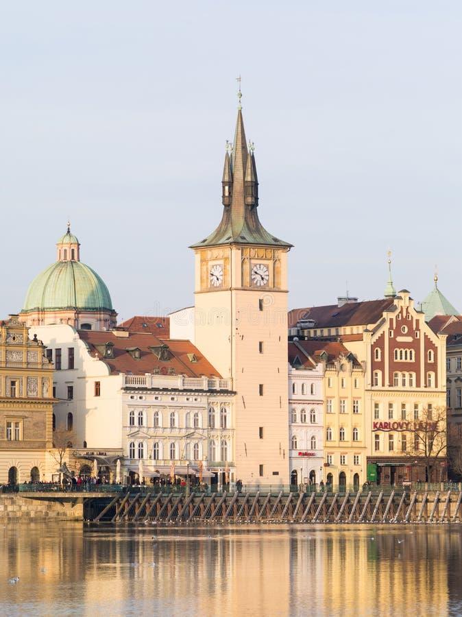 Sikt av Prague, Tjeckien royaltyfria bilder