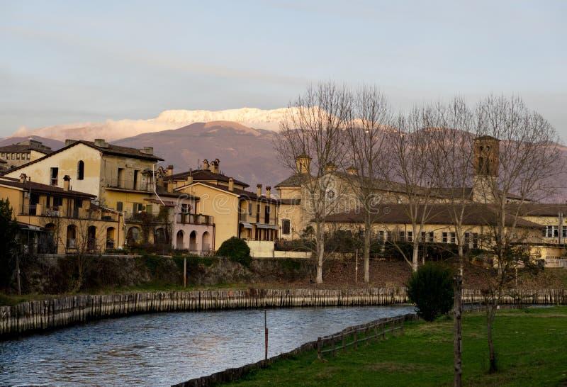 Sikt av Rieti Italien fotografering för bildbyråer