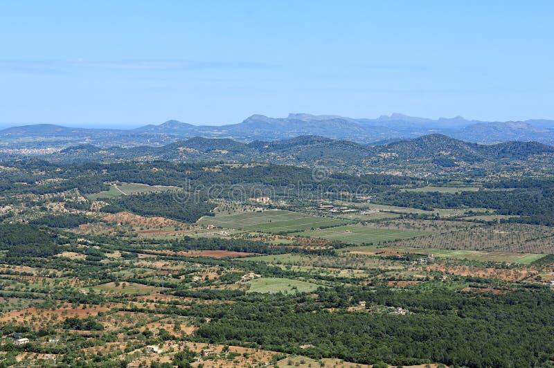 Download Sikt av södra Mallorca arkivfoto. Bild av lantligt, inget - 27288062