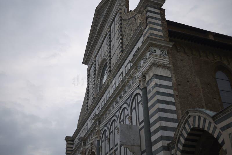 Sikt av Santa Maria Novella arkivbilder