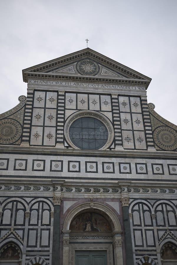 Sikt av Santa Maria Novella arkivfoto