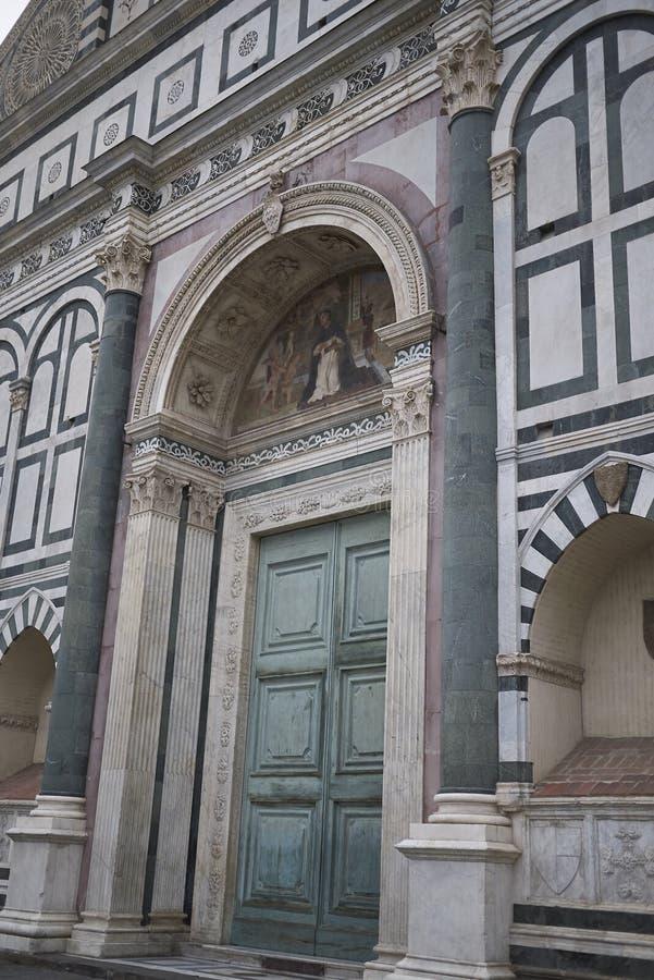 Sikt av Santa Maria Novella arkivfoton