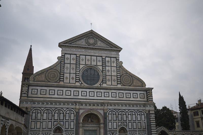 Sikt av Santa Maria Novella fotografering för bildbyråer