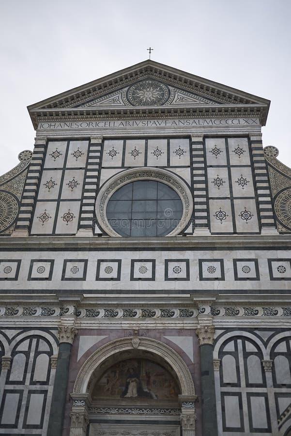 Sikt av Santa Maria Novella royaltyfria foton