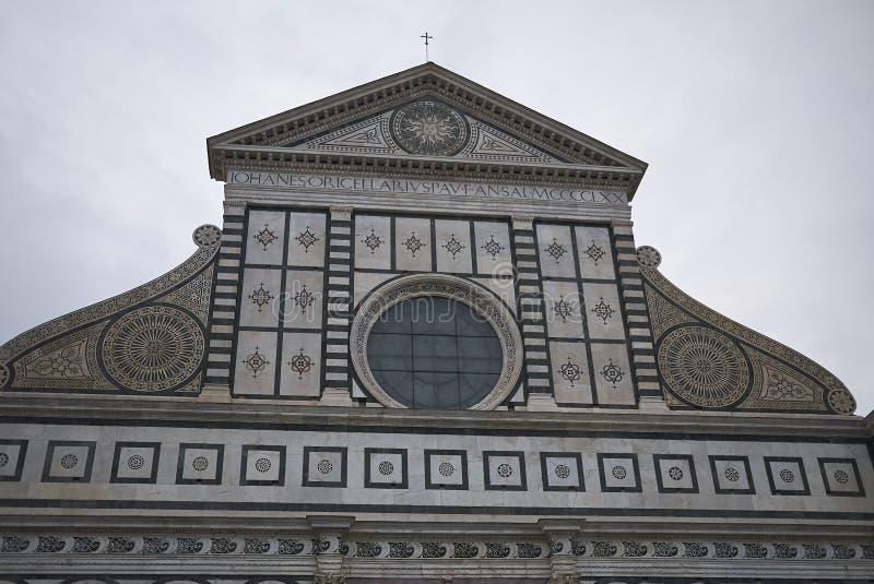 Sikt av Santa Maria Novella arkivbild