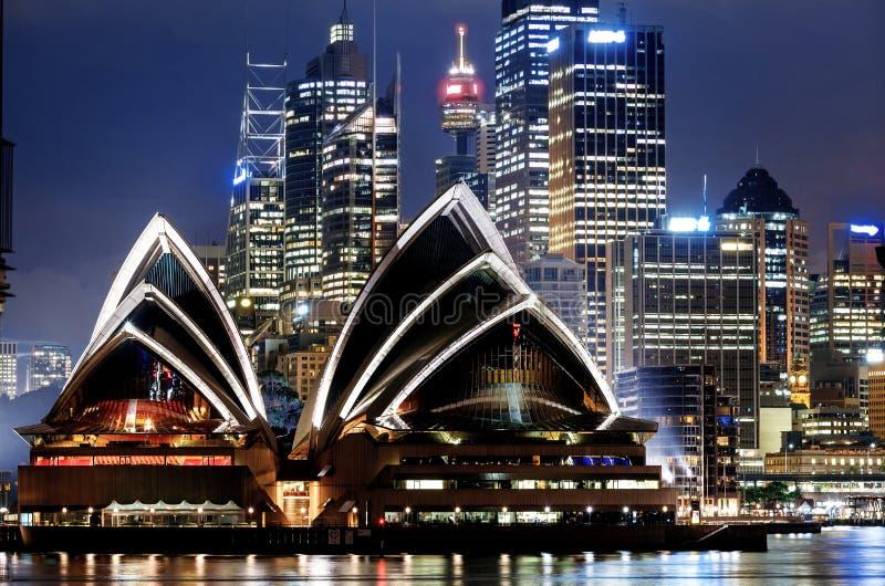 Sikt av Sydney Harbour arkivfoton