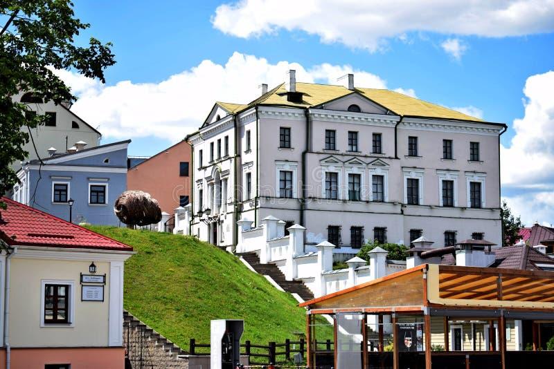 Sikt av Treenighetförorten av staden royaltyfri fotografi