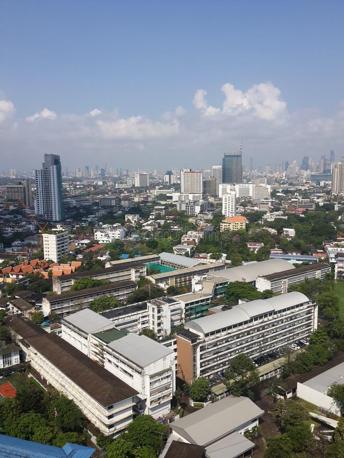 Sikt Bangkok arkivbilder