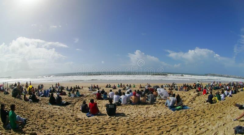 sikt för 2010 för strandkrullning pro supertubos för reva royaltyfria foton