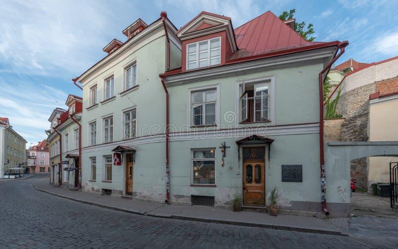 Sikt för Estland Tallinn gammal stadotta fotografering för bildbyråer