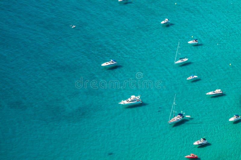 Download Sikt För Hög Vinkel Av Marina I Calpe, Alicante, Spanien Arkivfoto - Bild av waterside, vatten: 37345894