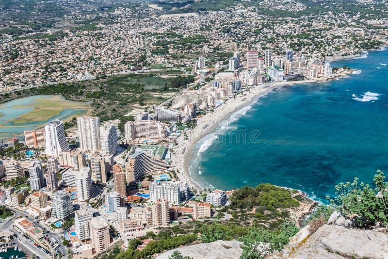Download Sikt För Hög Vinkel Av Marina I Calpe, Alicante, Spanien Fotografering för Bildbyråer - Bild av bygger, sikt: 37346663