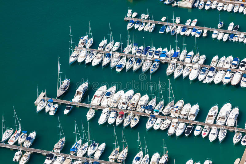 Download Sikt För Hög Vinkel Av Marina I Calpe, Alicante, Spanien Arkivfoto - Bild av vatten, town: 37347086