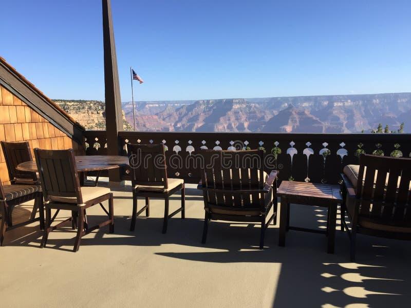 Sikt för presidents- följe av Grand Canyon royaltyfri fotografi
