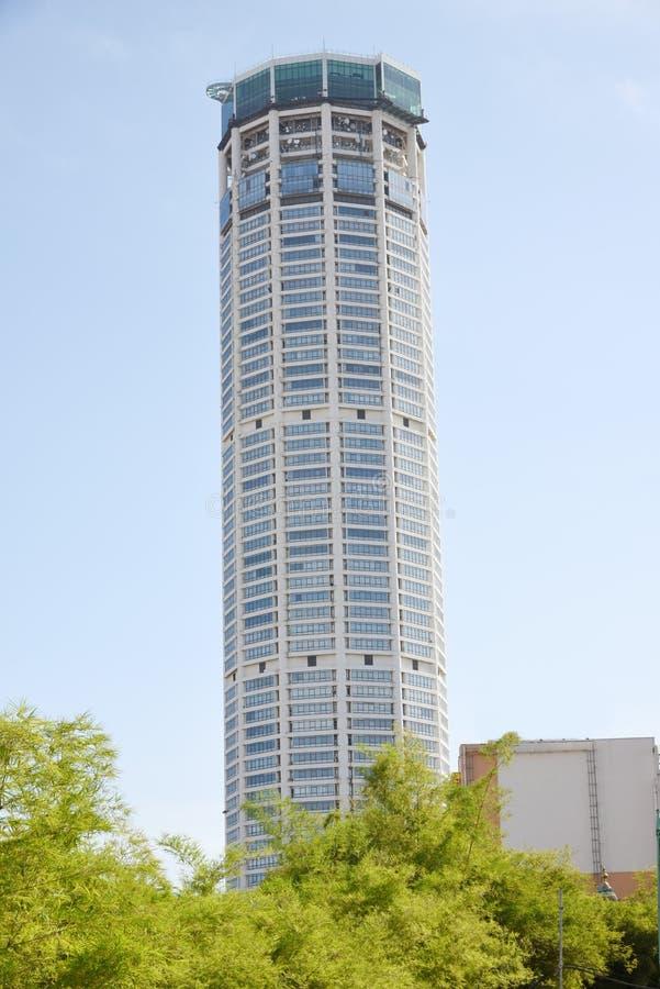 sikt för stadsgeorgetown komtar malaysia torn arkivbild