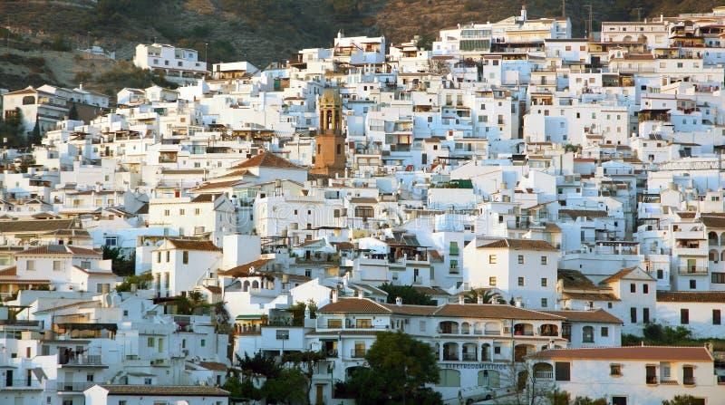 sikt för town för andalusia general spain royaltyfria bilder