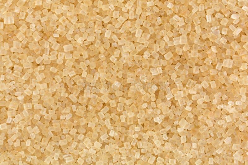 Sikt för Turbinado sockerslut royaltyfria bilder