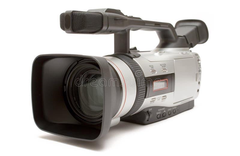 sikt för video för främre sida för kamera digital arkivfoton