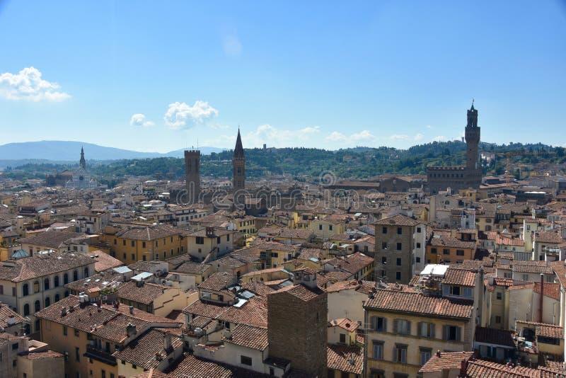 Sikt Firenze royaltyfria bilder