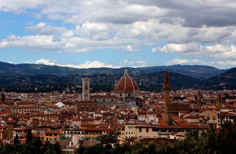 Sikt Florence, Firenze, Tuscany, Italien fotografering för bildbyråer