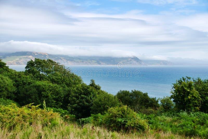 Sikt från den kust- banan fotografering för bildbyråer