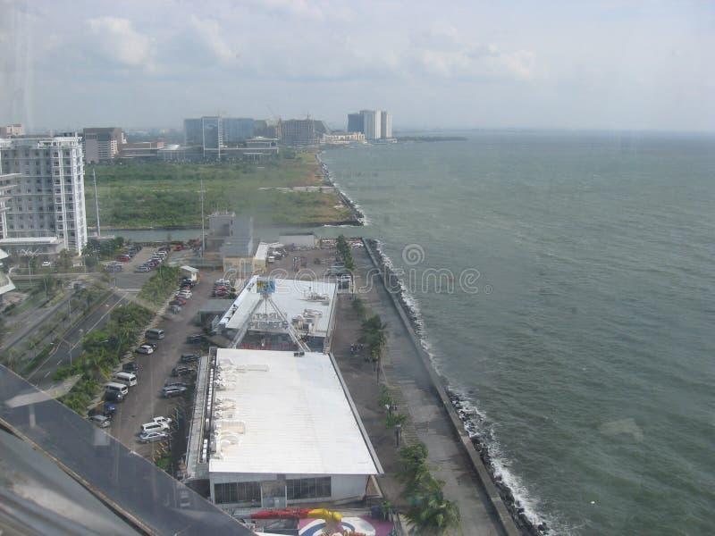 Sikt från gallerian av det Asien ögat, tunnelbana Manila, Filippinerna royaltyfria foton