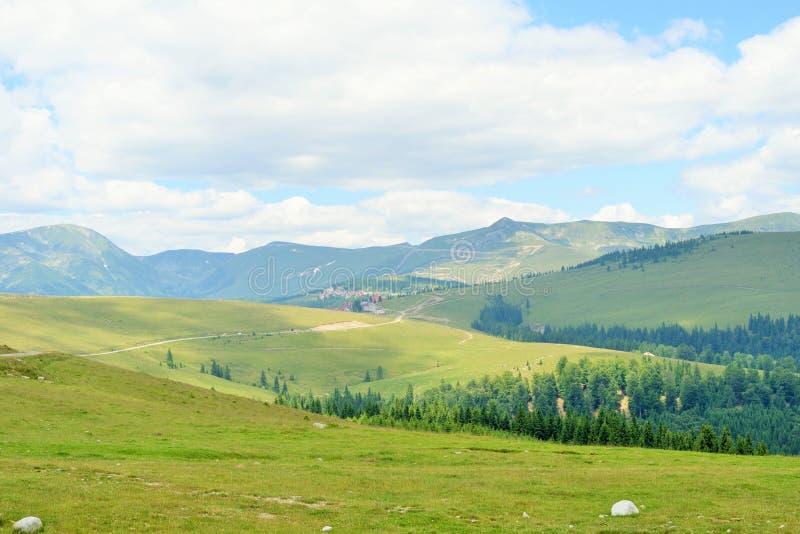 Sikt från Parang berg arkivbilder