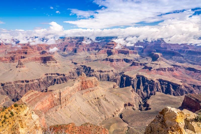 Sikt från Powell punkt på Grand Canyon royaltyfri foto